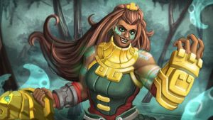 League of Legends Illaoi by Trevor-Verges