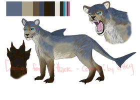 Design Trade : Lioness Shark by dttey
