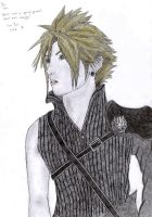 GA: Cloud Strife by punkette180