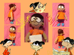 Ed Edd n Eddy Double D Crochet Amigurumi Plush by DibFan-4-lifeX3