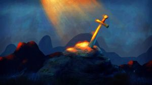 Sword in the Stone by caiobuca