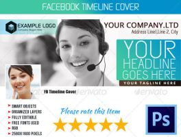 Corporate FB Timeline Cover 06 by Ruthgschultz