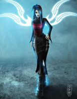 :Gothic Girl: by GRO-fx