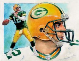 Green Bay Packers by Reverie-drawingly