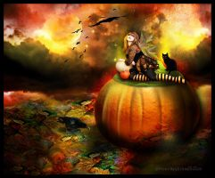 concours halloween by roserika