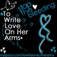 To Write Love On Her Arms by LikeTheAshesOfFlags
