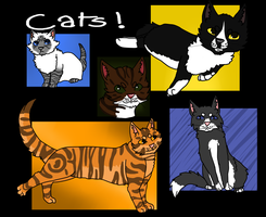 cats. by sealkisses