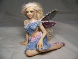 """Cara"" ooak fairy by AmandaKathryn"