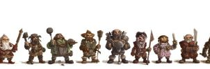 Dwarf-Line-Up by OtisFrampton