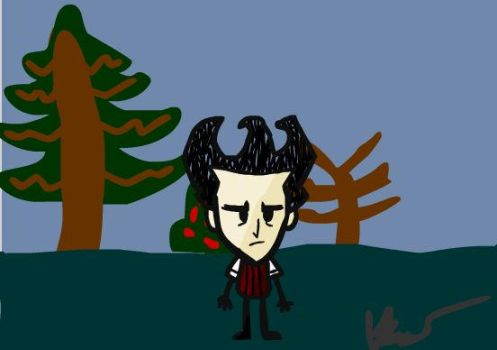 Don't starve:Wilson by TheDonchuylegovideos