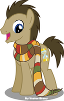 Doctors new scarf by Vector-Brony