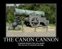Canon Cannon by tomthefanboy