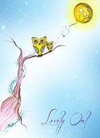 Lovely Owl by Gionetti