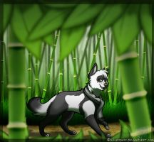 The Bamboo Forest by Silversparx