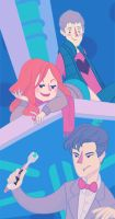 Come Along, Ponds by wibblywobblytimecake