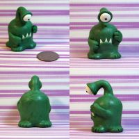 Ted the Timid Monster by TimidMonsters