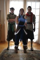 The Legend of Korra Cosplay - Team Photo 1 by Confidenceman047