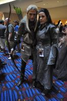 Legolas and Arwen Preview by celticruins
