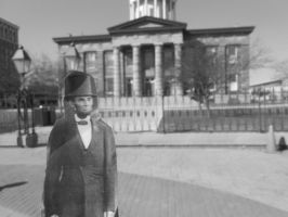 Lincoln: At the (Old) State Capitol Building by Missywoot1124