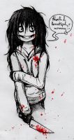 Jeff the killer by Geexy-Thingie