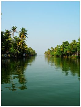 Backwaters - Gods Own Country by theinfinitedream