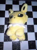 135 Jolteon plush by xmorris33