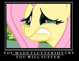 You Made Fluttershy Cry by Heliotroph