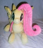 Front of Fluttershy by Sophillia