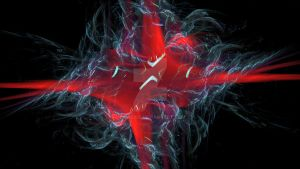 Red Star Fractal by Lion6255