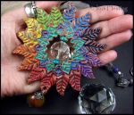 Lotus Leaf Sun Catcher by andromeda