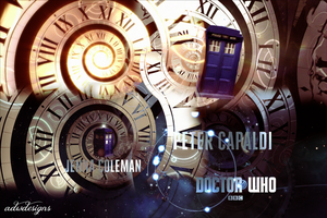 Doctor Who Series 8 Opening Titles Design by feel-inspired