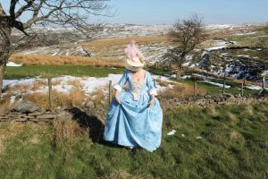 march in yorkshire, 18thc gown by Abigial709b