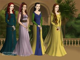 Disney Princess Game-of-Thrones-Azaleas-Dolls by InvisibleDorkette