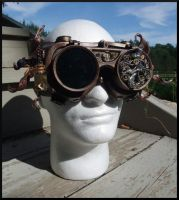 Sir Squid Steampunk Goggles by Jedi-With-Wings