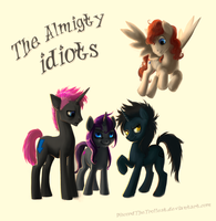 Teh allmighty idiots by DiscordTheTrollest