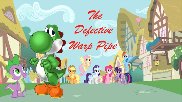 The Defective Warp Pipe: Original Cover Picture by LevelDasher