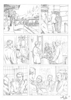 NorthByNorthwest comic page by AndreaSchepisi