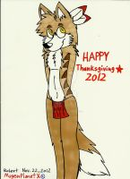 Happy Thanksgiving 2012 (2012) by MugenPlanetX