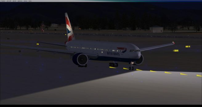 Taxiing to the Runway. by BlueAviatorOctoling