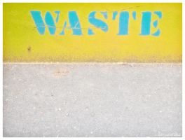 waste by davespertine