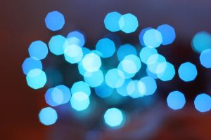 Blue Bokeh by kato9stock