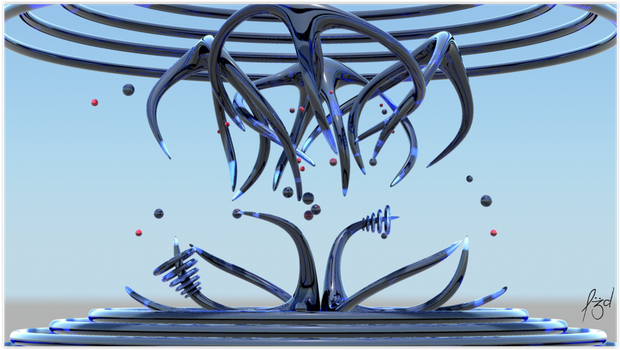 Abstract 3d of the Day by mogolaki