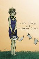 1000 things and a Summer Dress by Bazzelwaki
