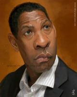 Denzel Washington by David-Duque