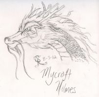 Mycroft-Dragon by SaitouuRyuuji