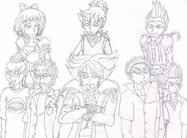 Anime Humanized Koopalings by ForgottenDarkThunder