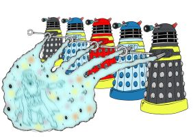 Doctor Who Fannual - 2 by mikedaws