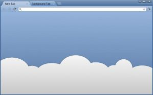 In The Clouds Chrome Theme by SuprVillain