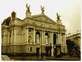 Opera in Lviv by Andromeda-Mirtle