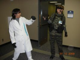 Otacon and Solid Snake Epac 09 by saintguardian